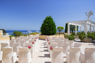 Sea Club Terrace Wedding Reception