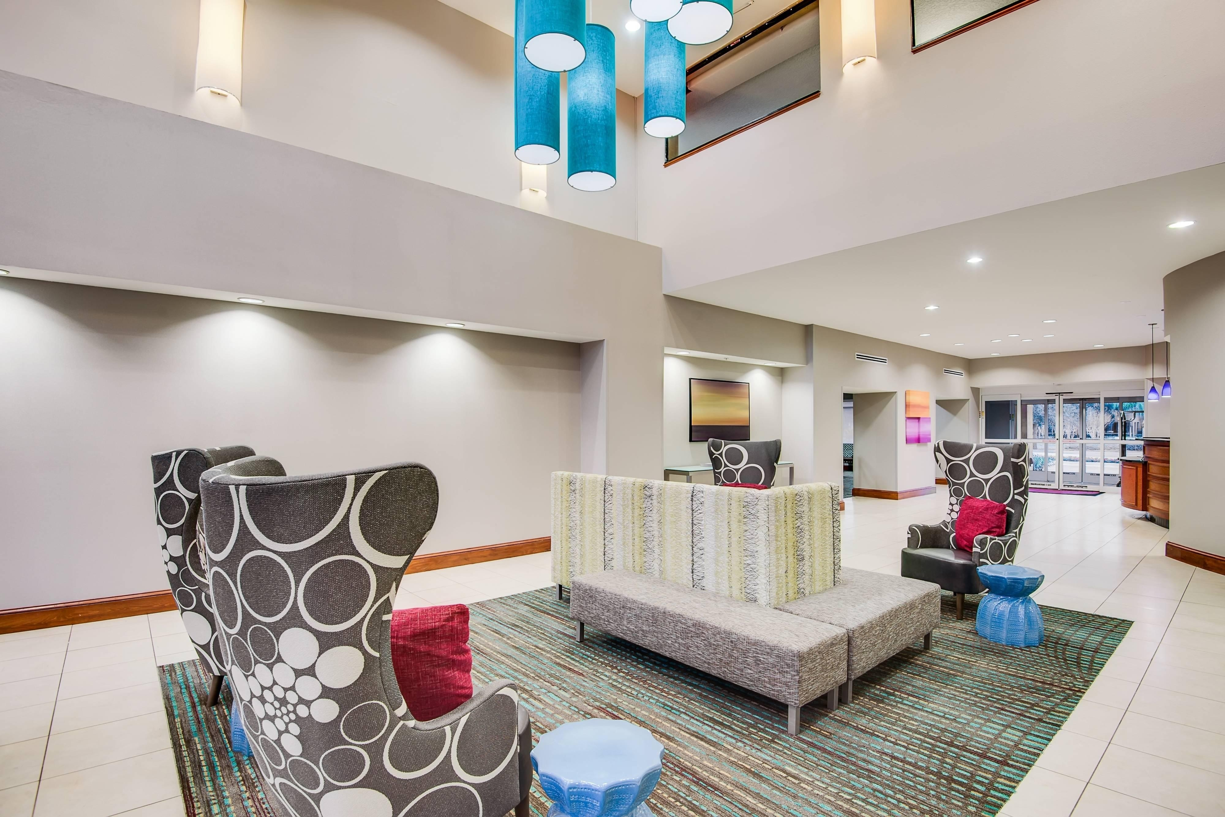 Lobby soft seating areas
