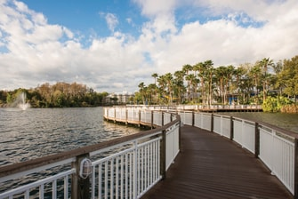 Orlando Resort Boardwalk