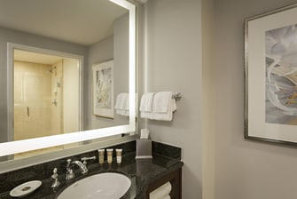 Palms suite bathroom
