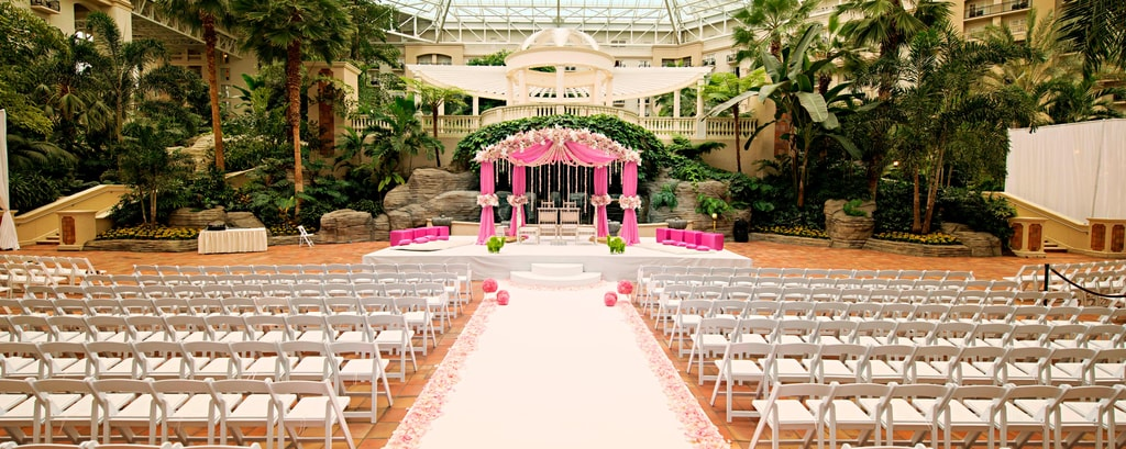 Kissimmee Florida Wedding Venues Gaylord Palms Resort