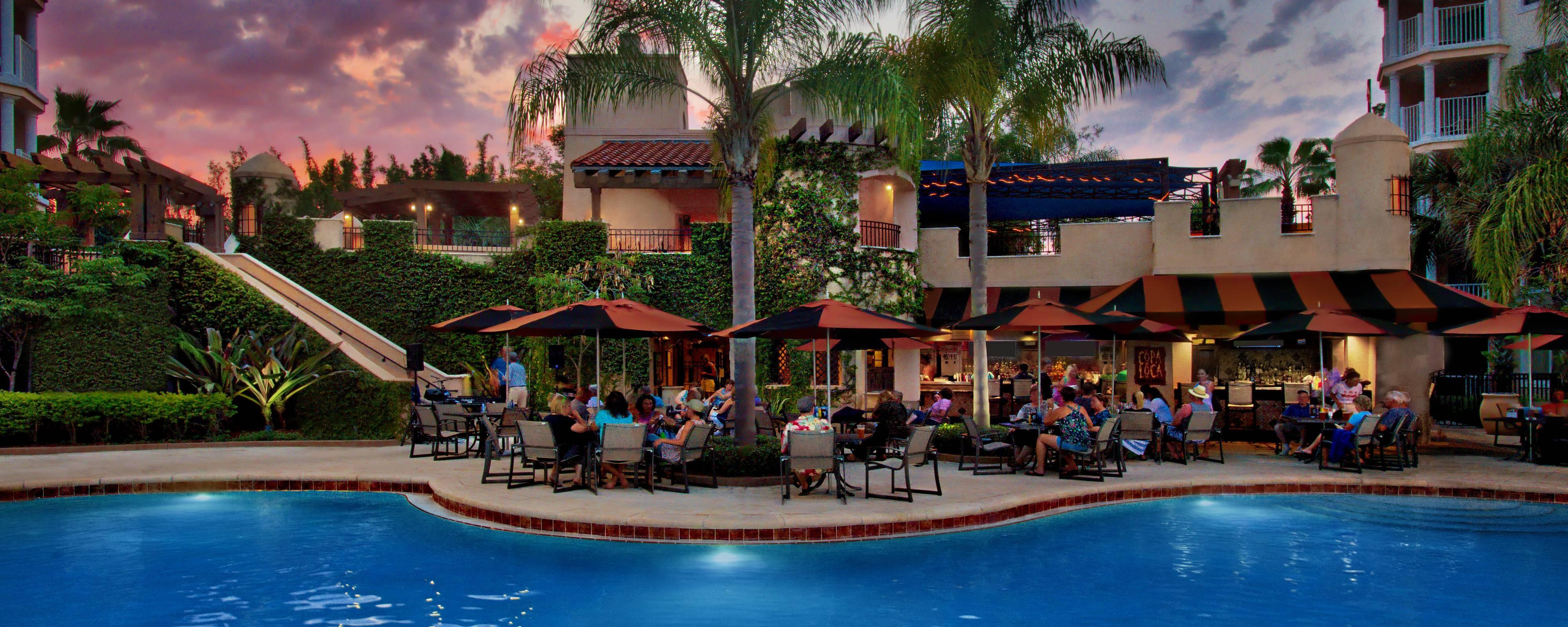Outdoor Restaurants Orlando Casual Dining Marriott S
