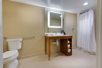 Orlando, Kissimmee, Suite, Bathroom, Shower
