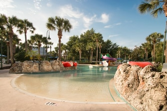 Orlando Kissimmee Outdoor Pool Zero Entry