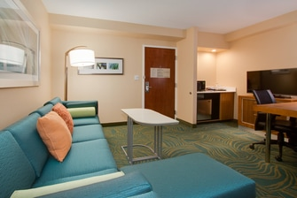 Orlando Kissimmee Suite Living Area