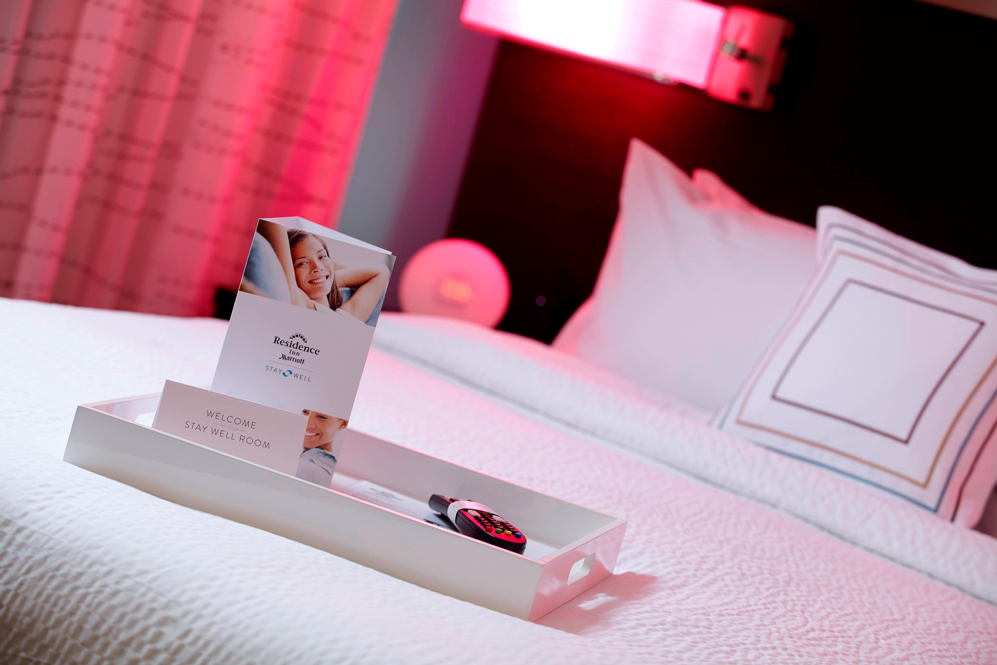 Stay Well Guest Room Amenties