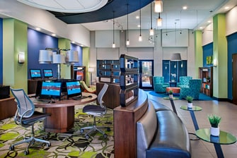 Lobby Computer Workstations