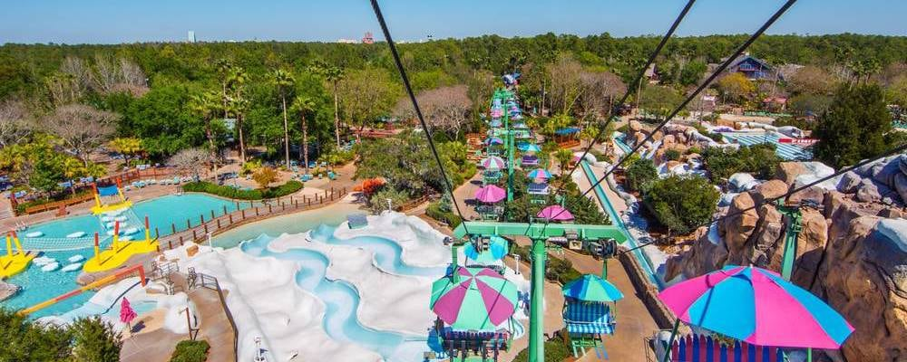 Parc aquatique Blizzard Beach de Disney