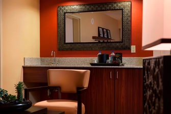 Downtown Orlando hotel suite