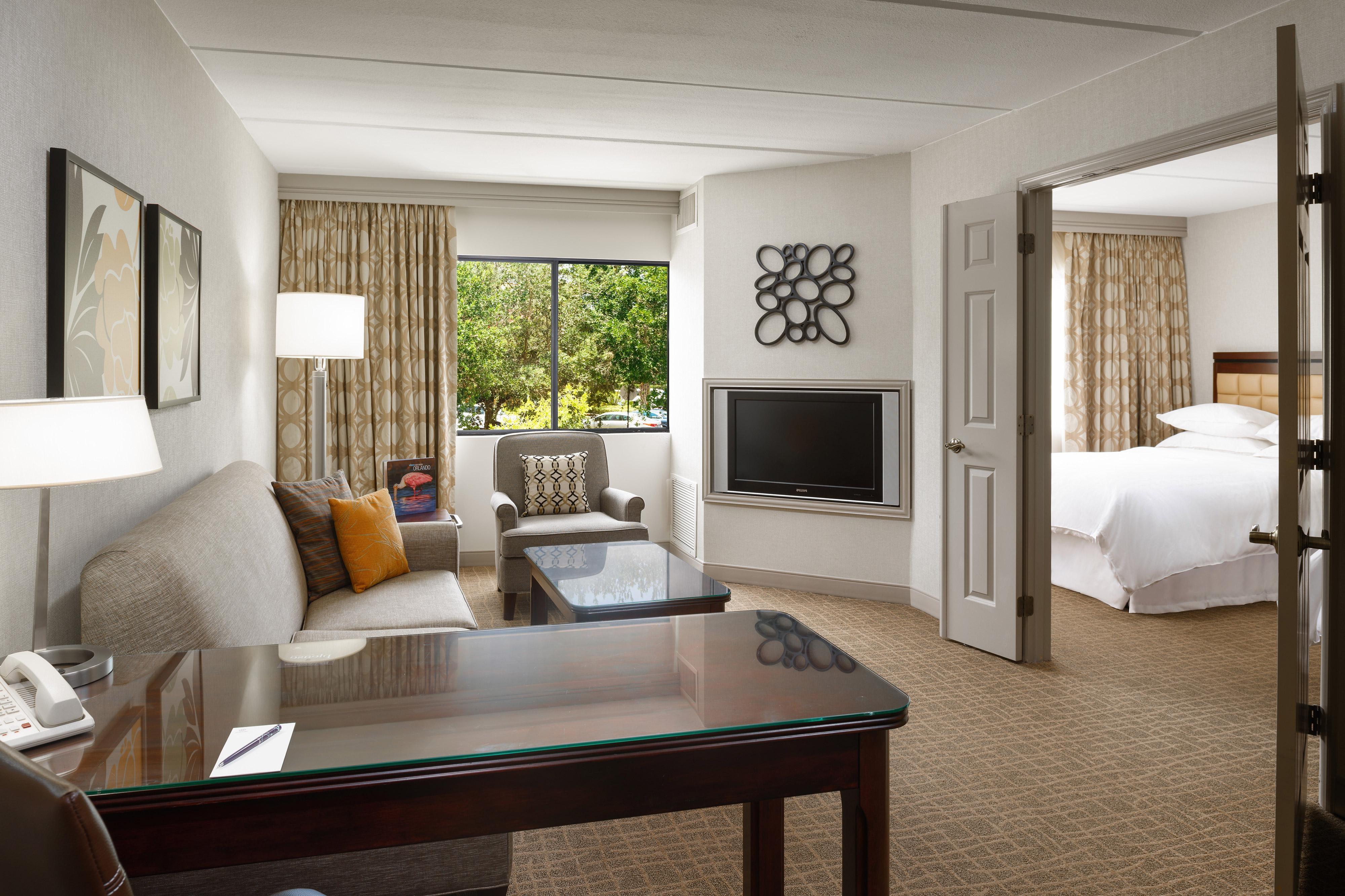 Suite mit zwei Zimmern und Kingsize-Bett