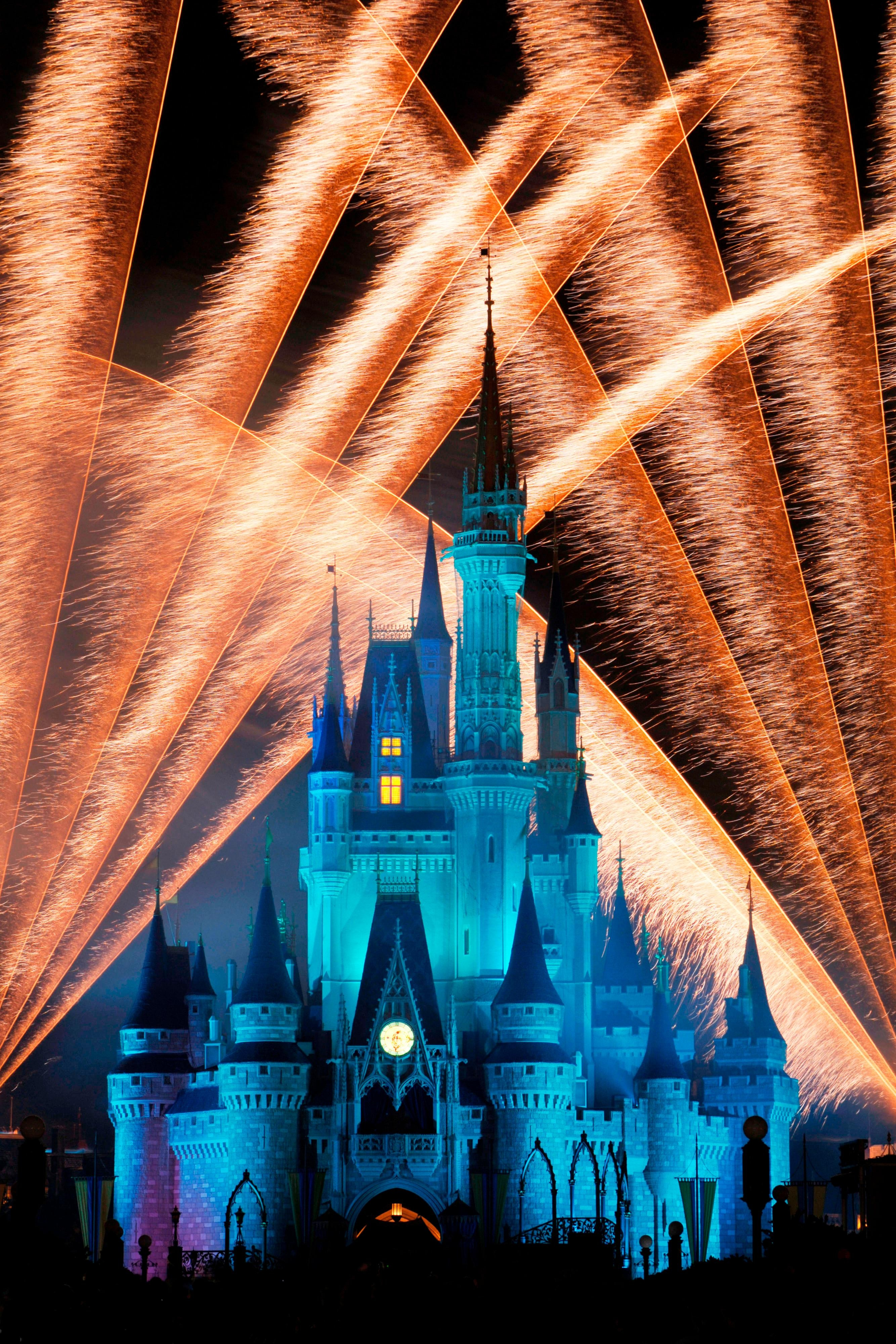 Magic Kingdom® Castle Fireworks