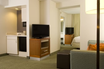 Suite Kitchenette & Living Area