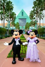 Mickey and Minnie Wedding - Causeway