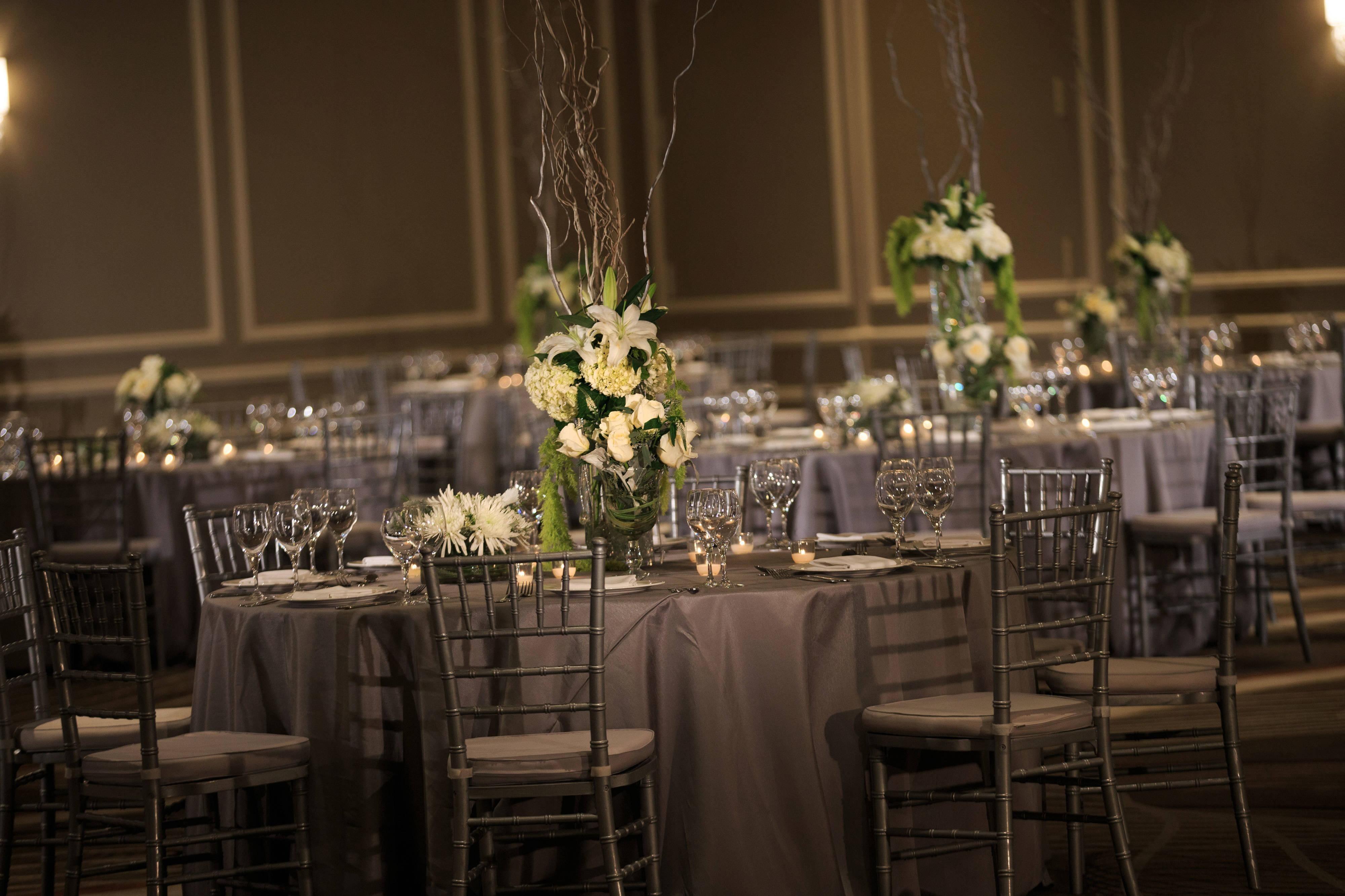 Oceans Ballroom Wedding Reception
