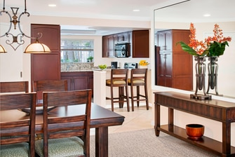 Two-Bedroom Villa Diningiving Areas
