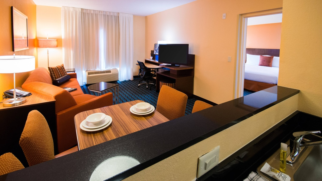 One Bedroom Suites with Kitchens
