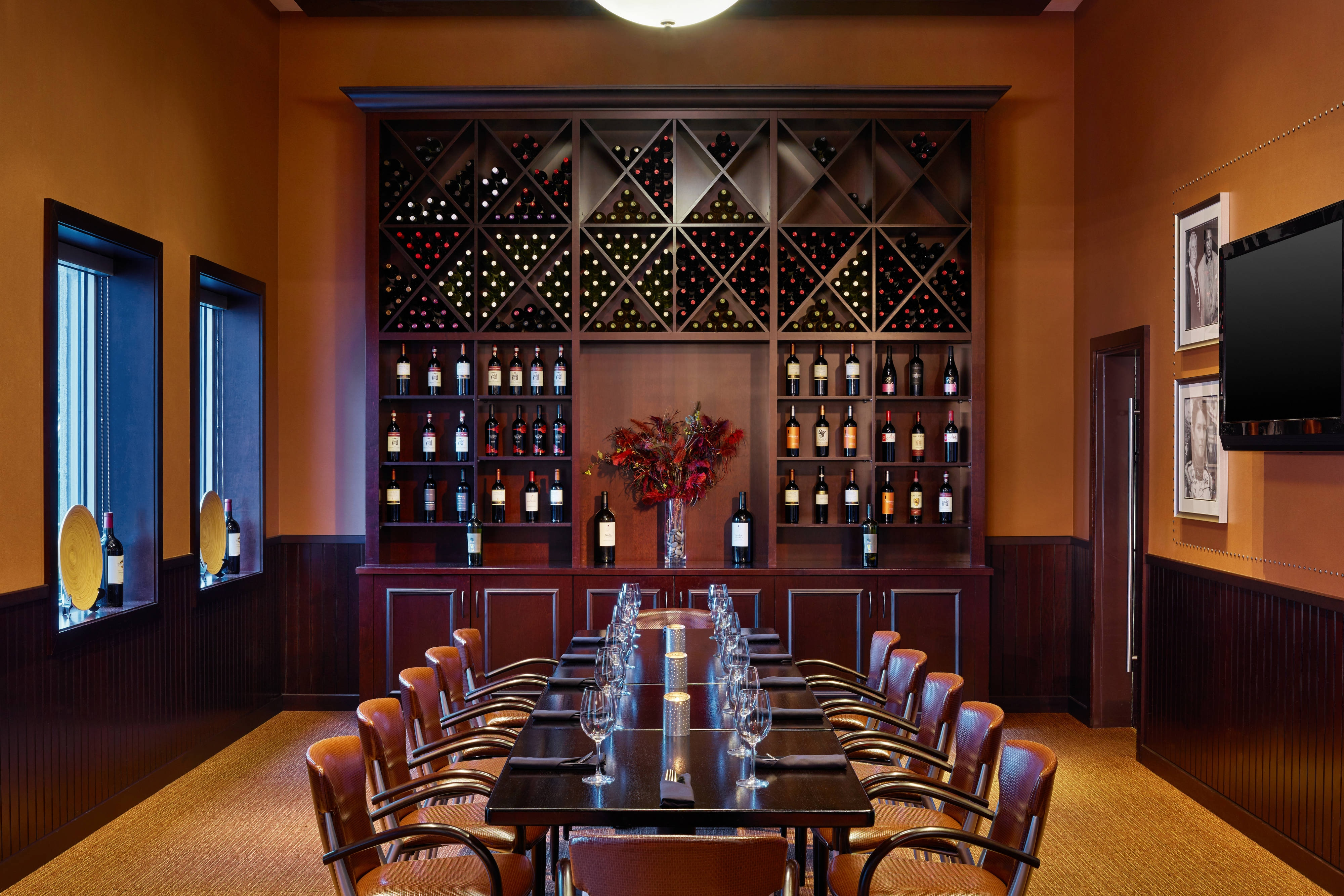 Shula s 347 Grill Private Dining Room