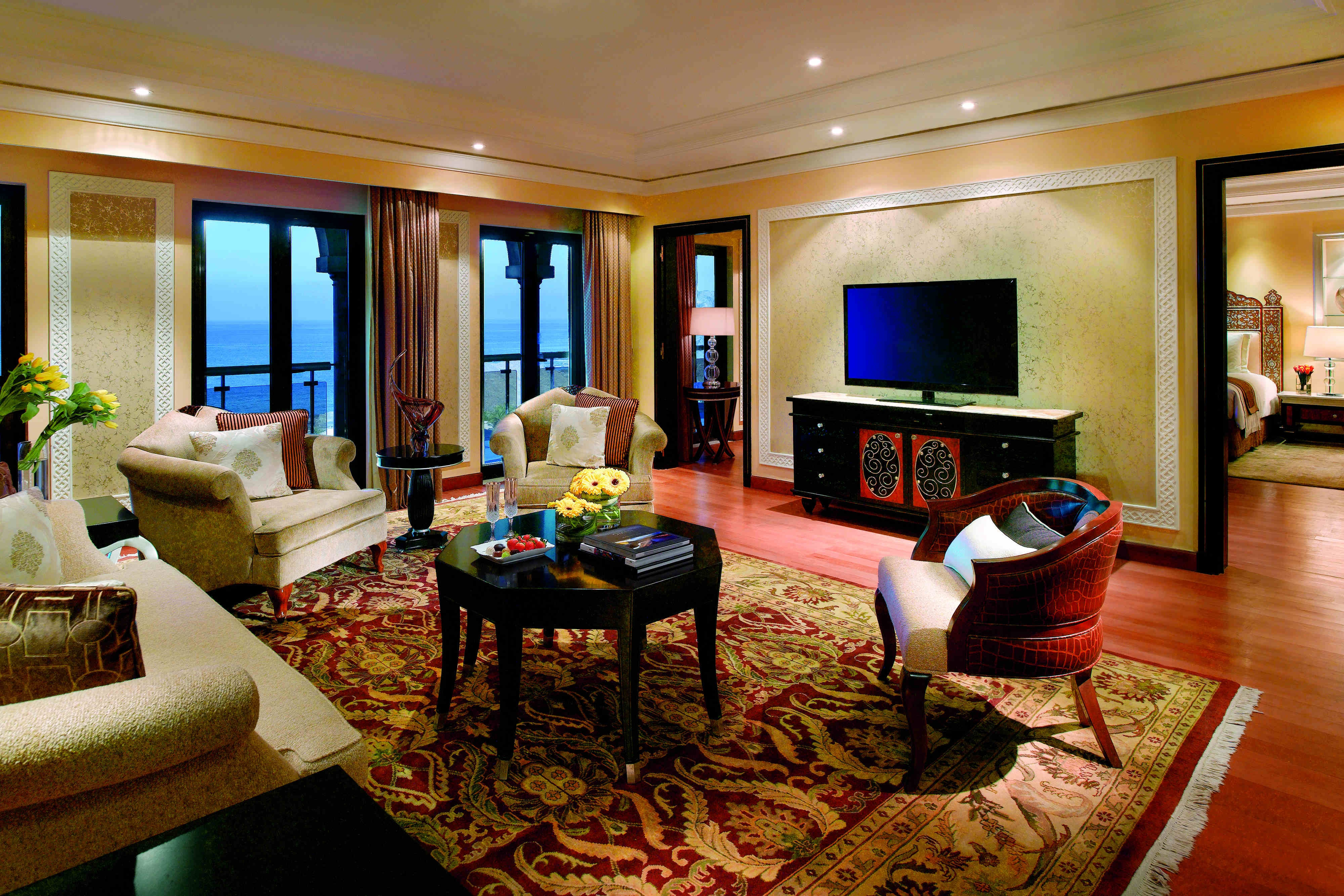 Al Bustan Palace, A Ritz-Carlton Hotel - Presidential Sea View Suite