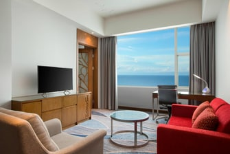 Grand Sea View Suite - Living Room