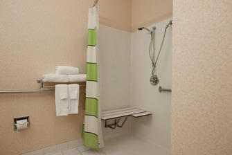 Joliet Illinois Hotel Accessible Bath