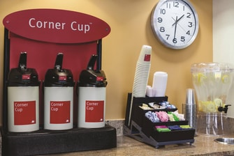 Corner Cup Coffee Station