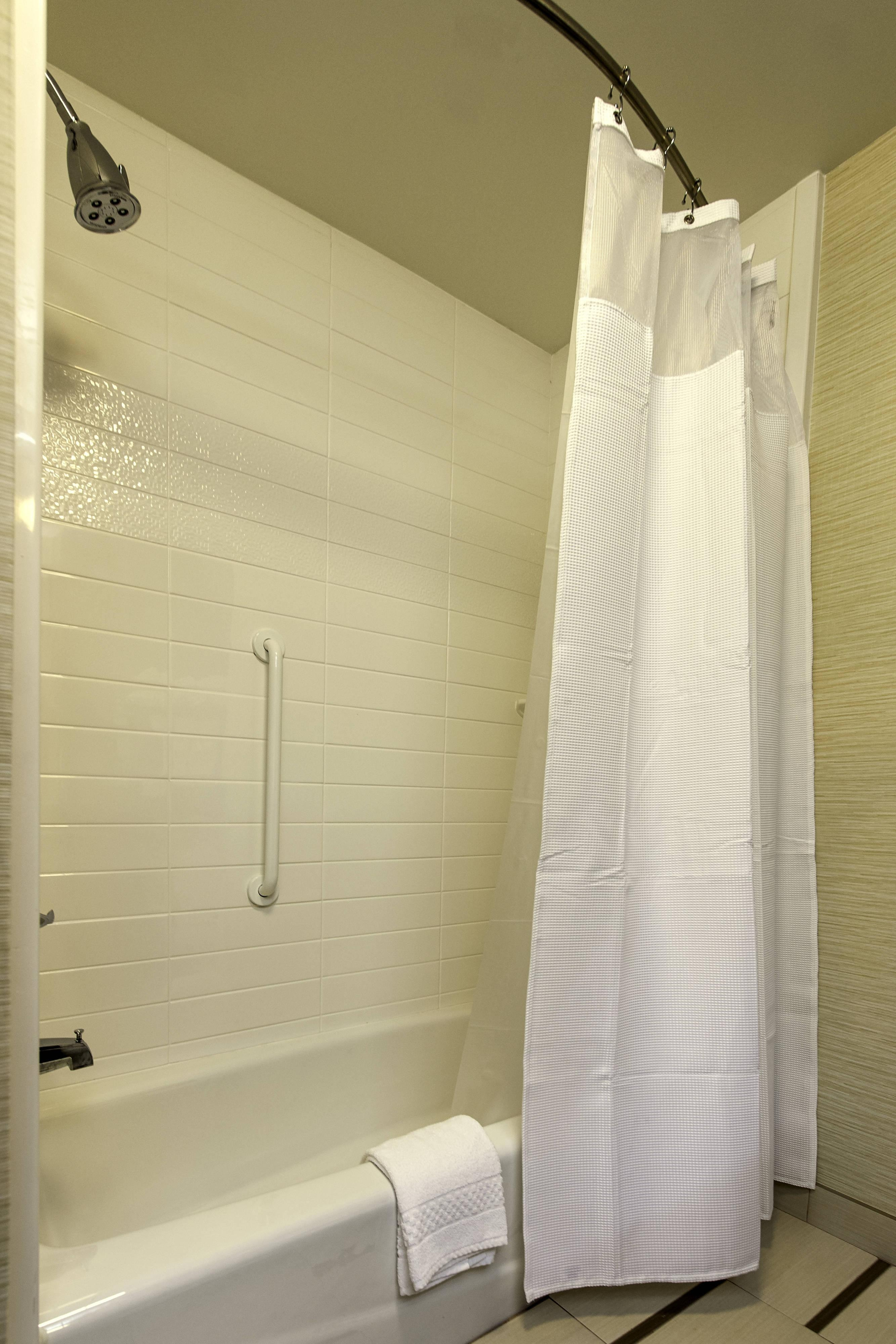 Guest Bathroom Accessible Shower