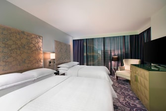 Grand Twin Deluxe Guest Room Rooms