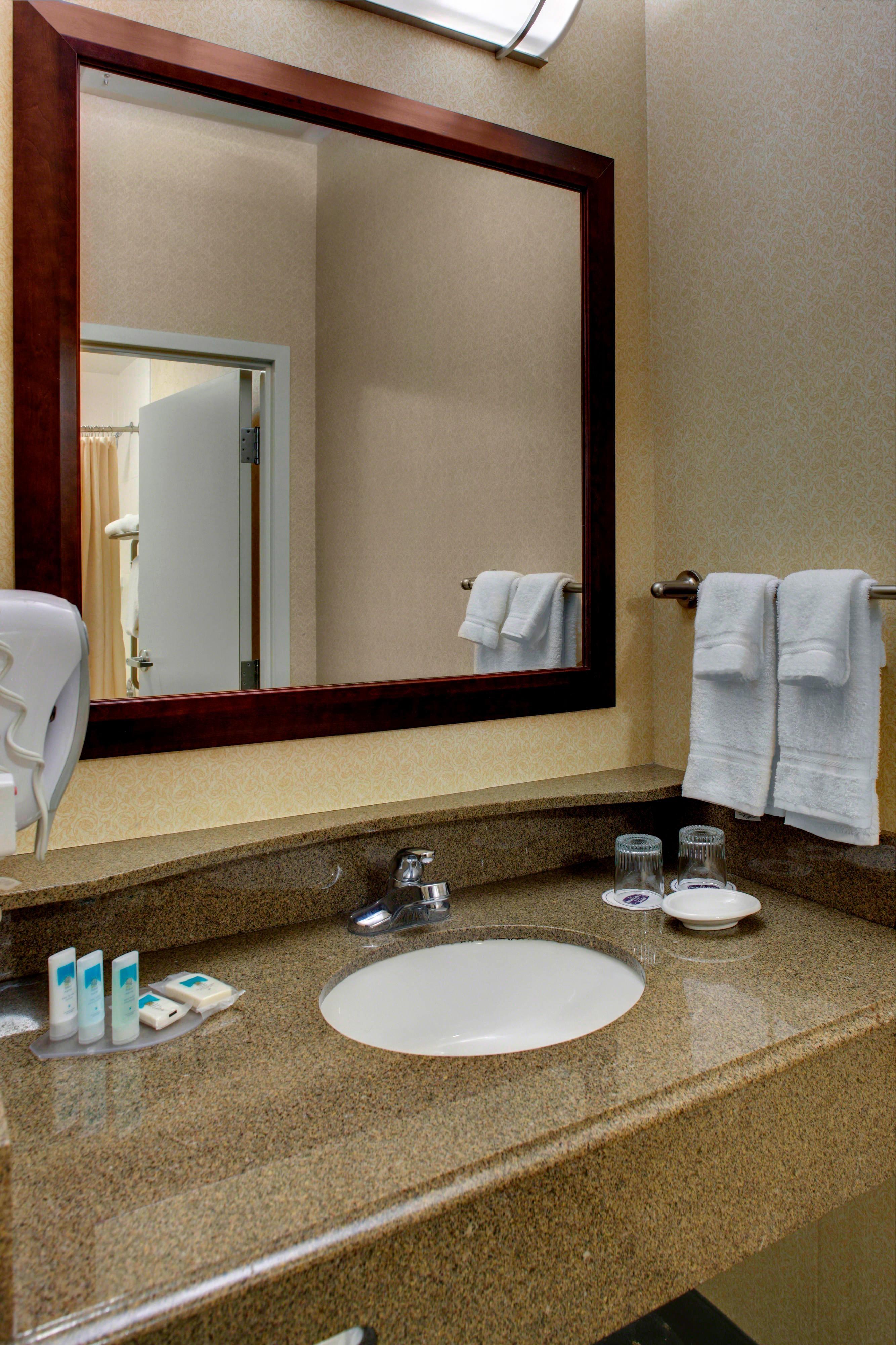 Springhill Suites Memphis Guest Bathroom