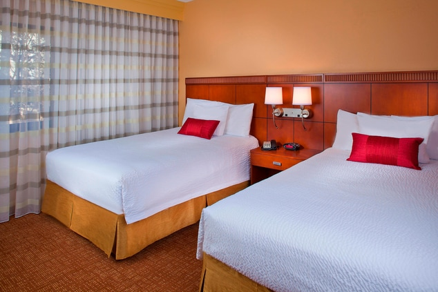 Double Beds, Double Double Guest Room