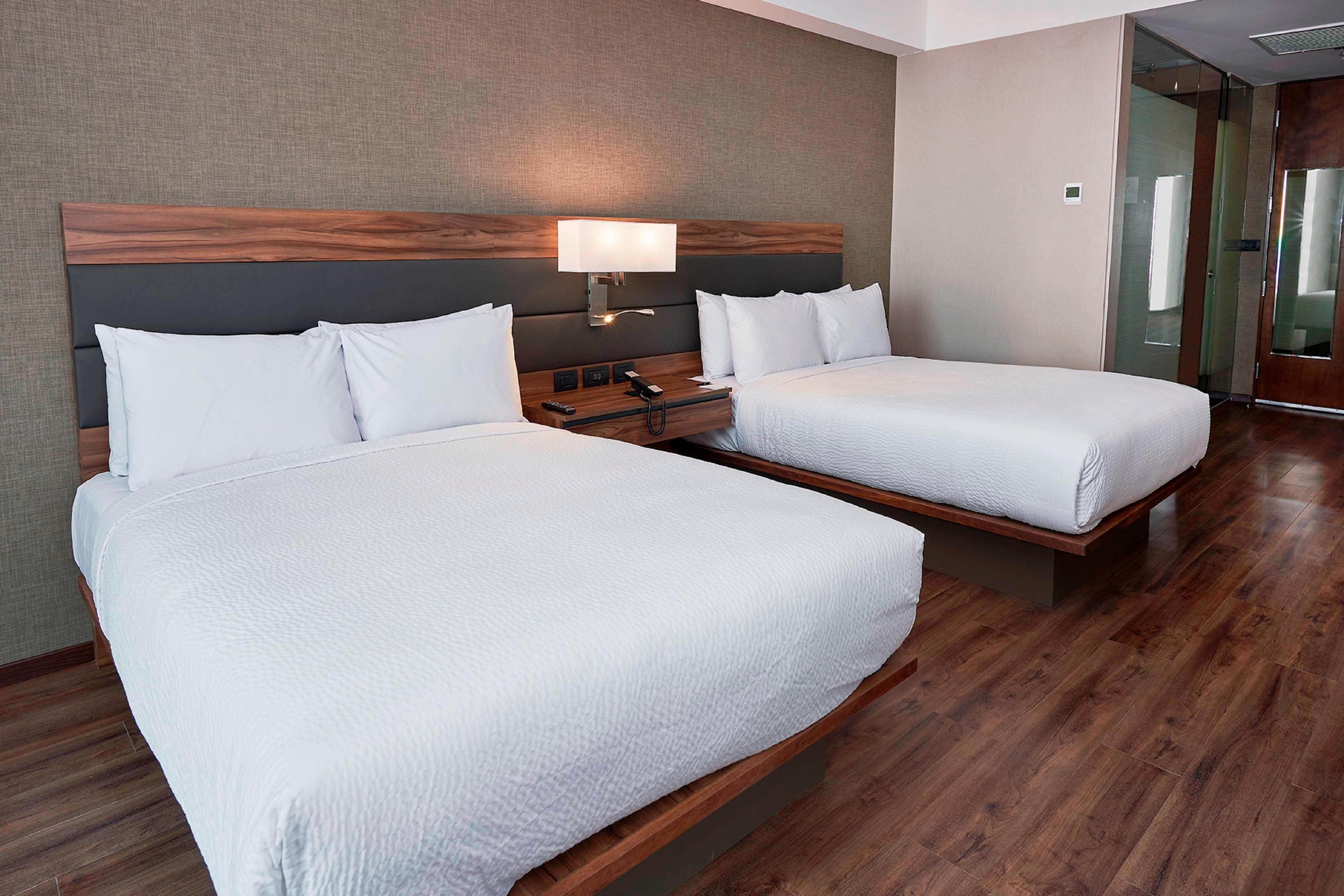 Habitación Lifestyle con dos camas dobles
