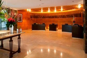 Recepción del Hotel de Ciudad de México