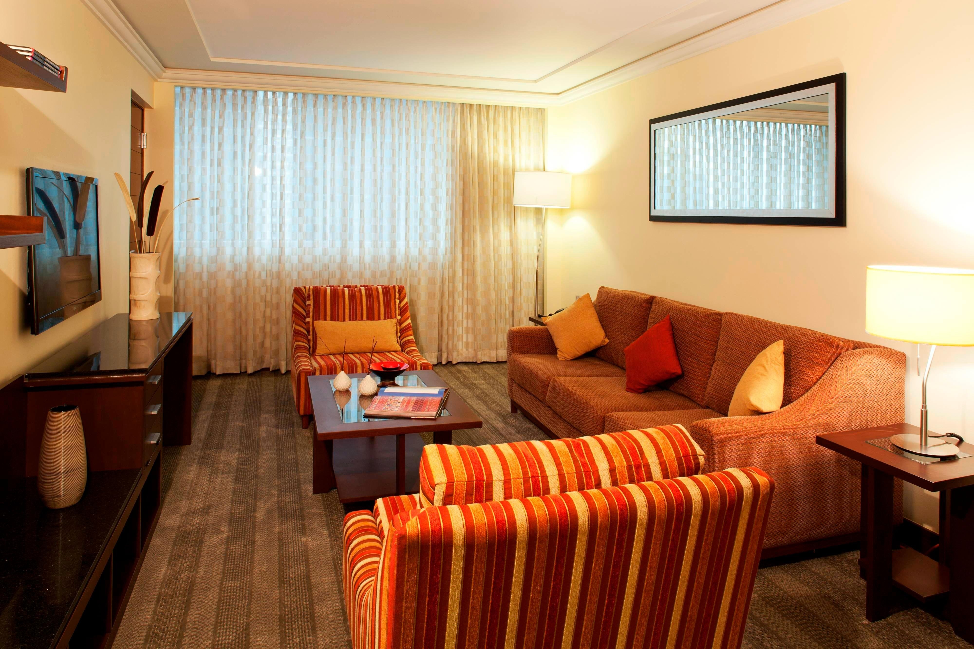 Junior Suite del hotel Marriott Reforma