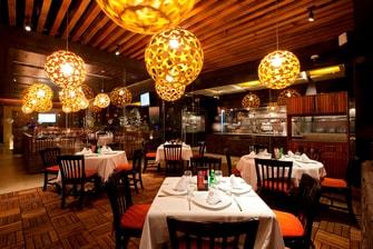 Restaurante en el Marriott de la ciudad de México
