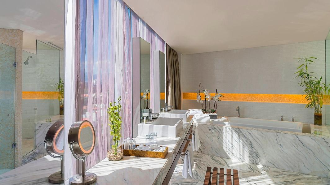 Badezimmer der Präsidenten-Suite
