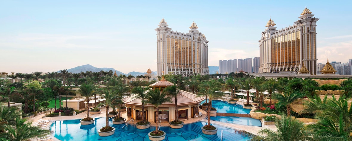 Macau resort exterior