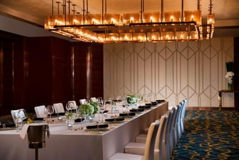 Macau event space dining setup