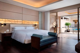 Luxury suite accommodation Macau