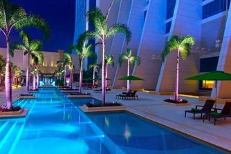 Jaya Pool Night View