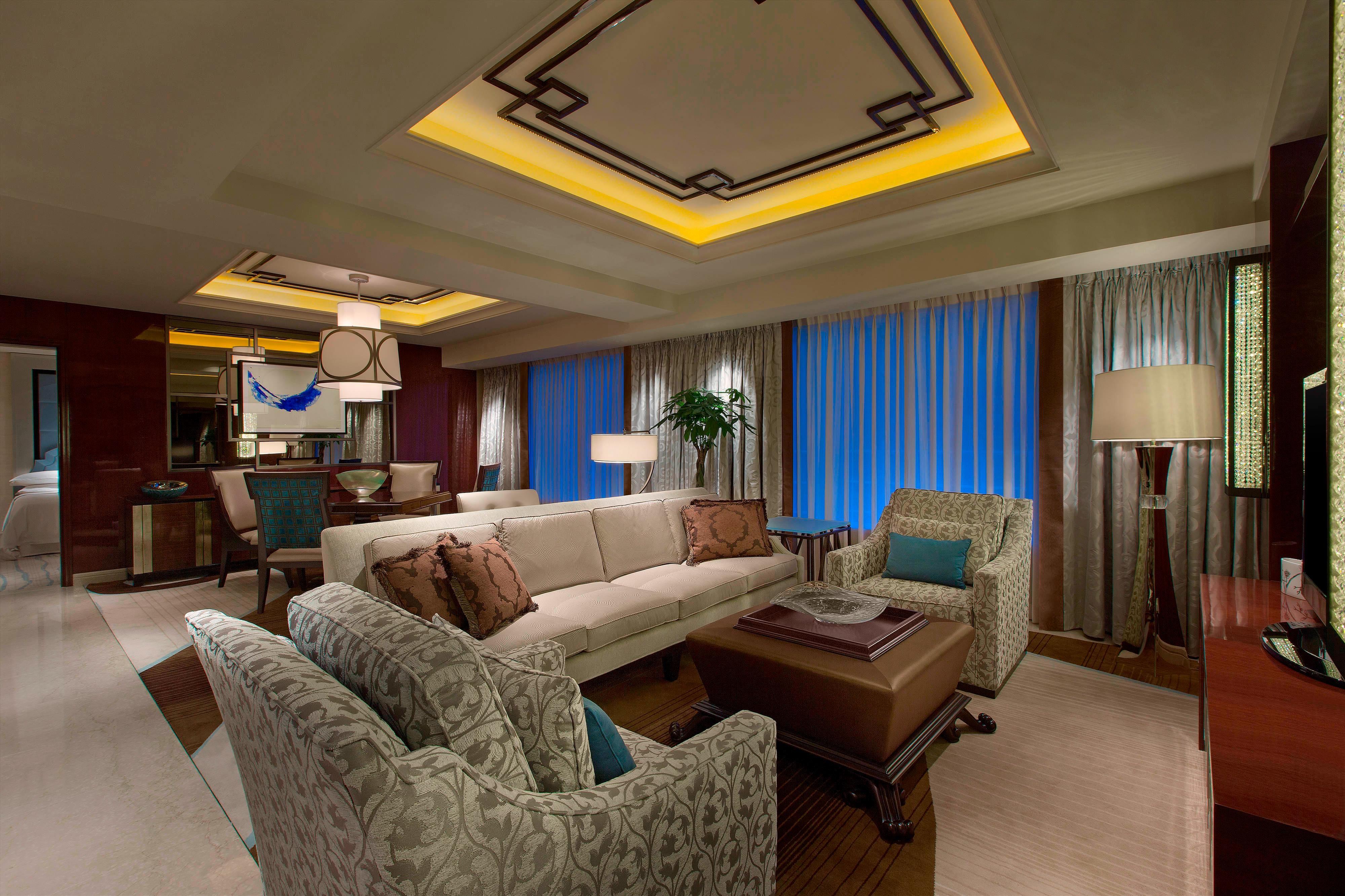 Präsidenten-Suite– Wohnzimmer