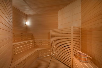 Fitness Center Sauna Room