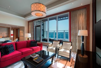 Executive Deluxe Suite with Terrace - Living Room