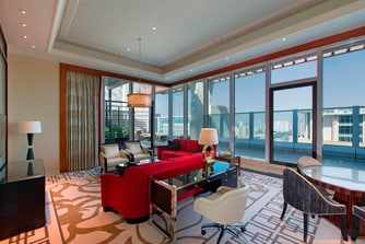 Terrace Suite - Living Room