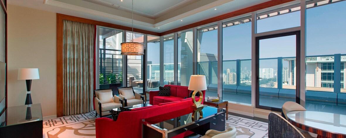Terrace Suite – Wohnzimmer