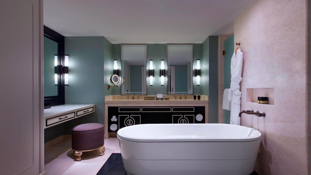 Salle de bain de la suite Executive