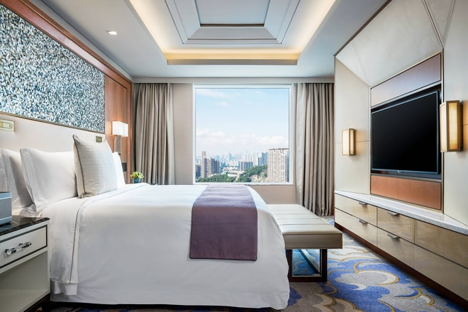 St. Regis Suite - Bedroom