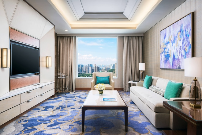 St. Regis Suite - Living Room