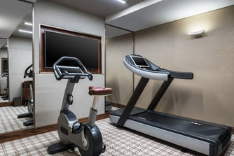 Presidential Suite Exercise Room