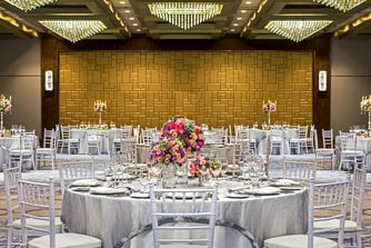 Astor Ballroom Western Wedding Reception