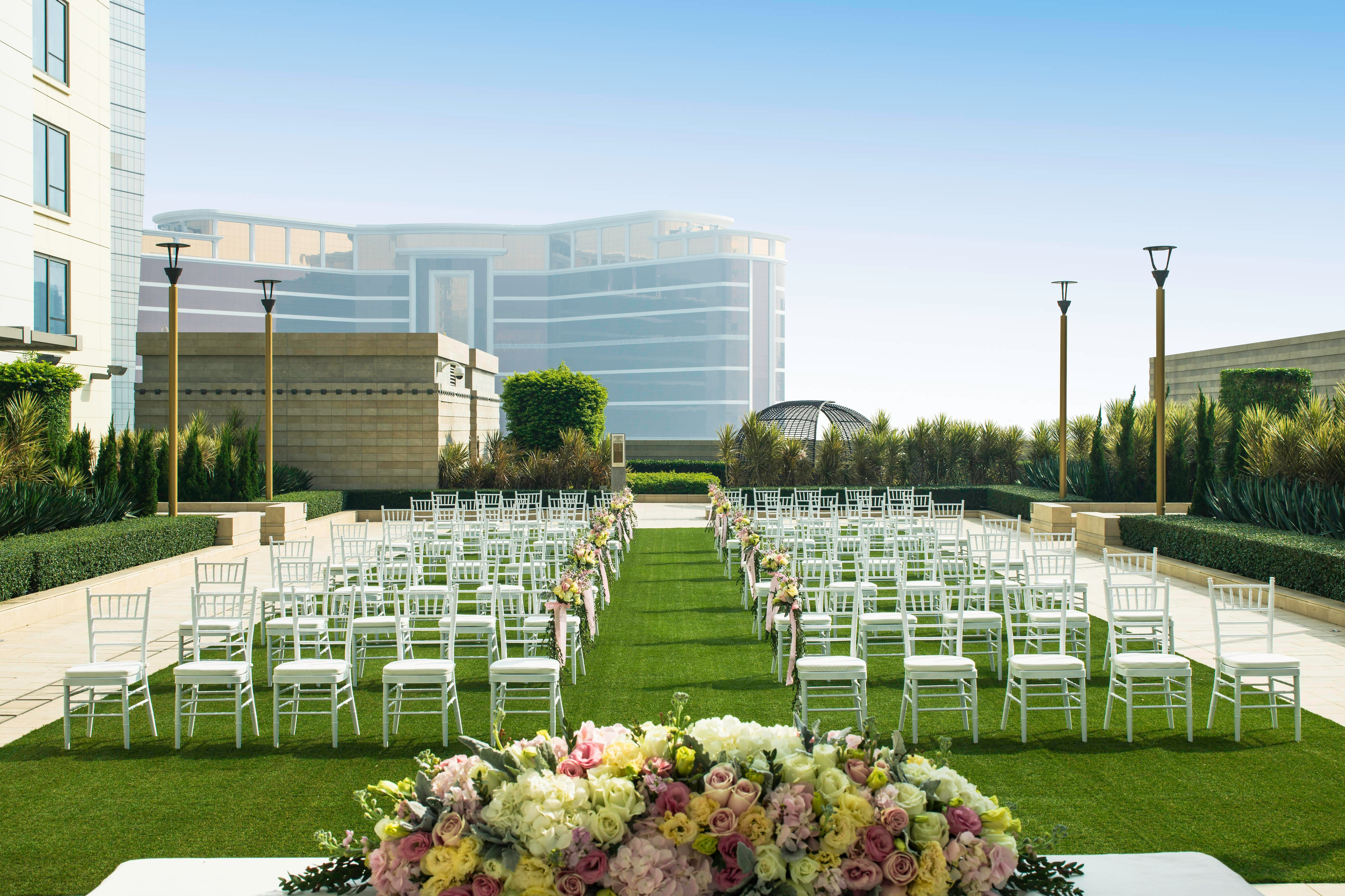 The Lawn Outdoor Wedding Reception