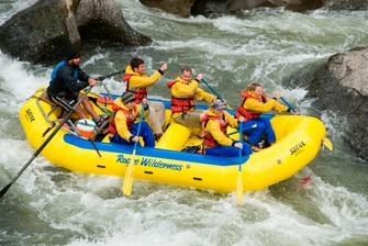 White Water Rafting on the Rogue
